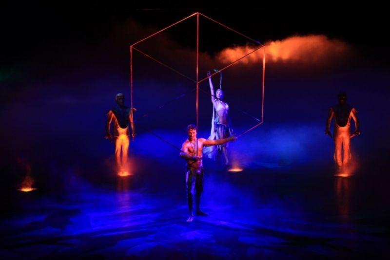 Cirque du Soleil show in Las Vegas