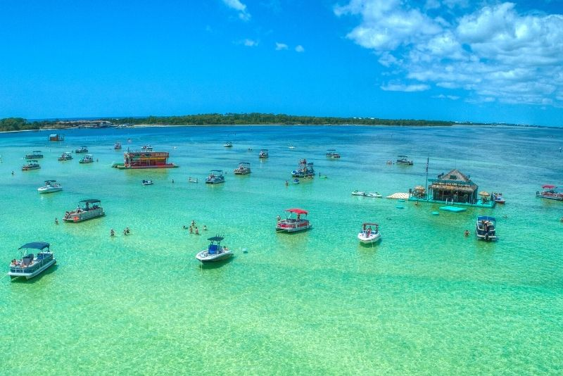 Crab Island, Destin