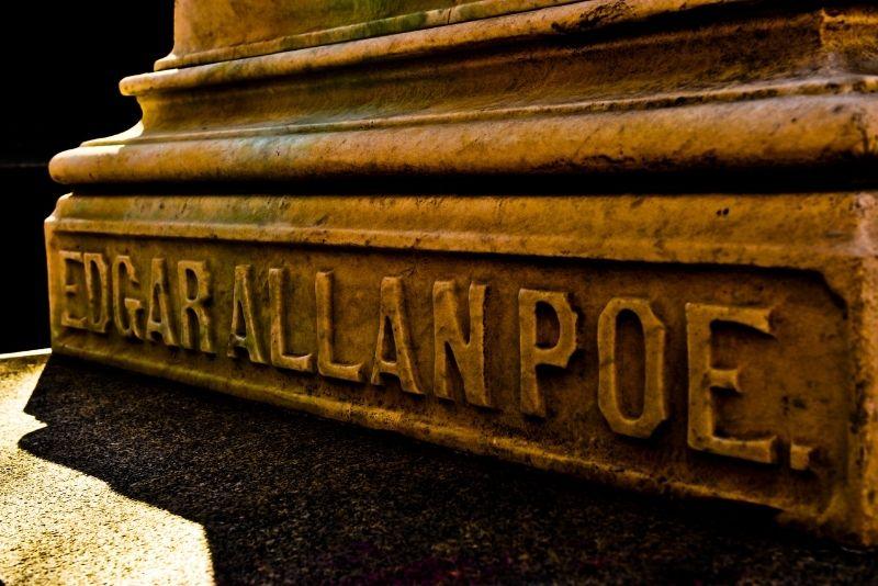 Edgar Allan Poe's Memorial Grave, Baltimore
