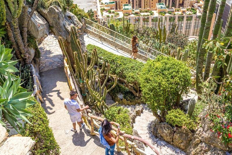 Exotischer Garten von Monaco