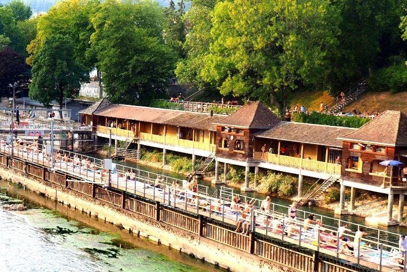 Flussbad Oberer Letten, Zurich
