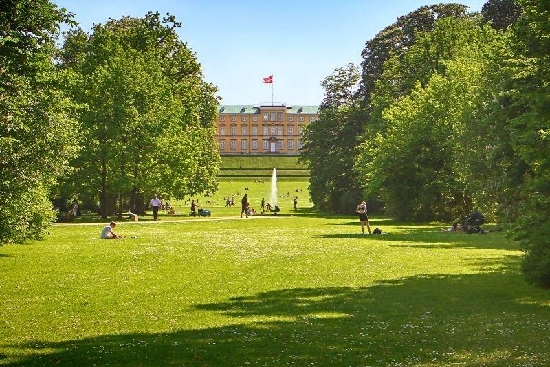 Frederiksberg-Gärten, Kopenhagen