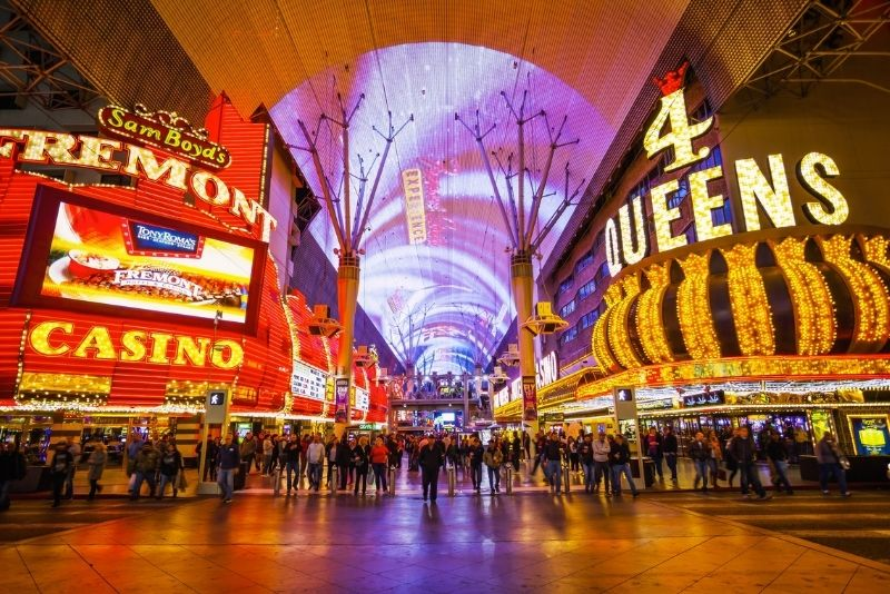 Fremont Street light show, Las Vegas