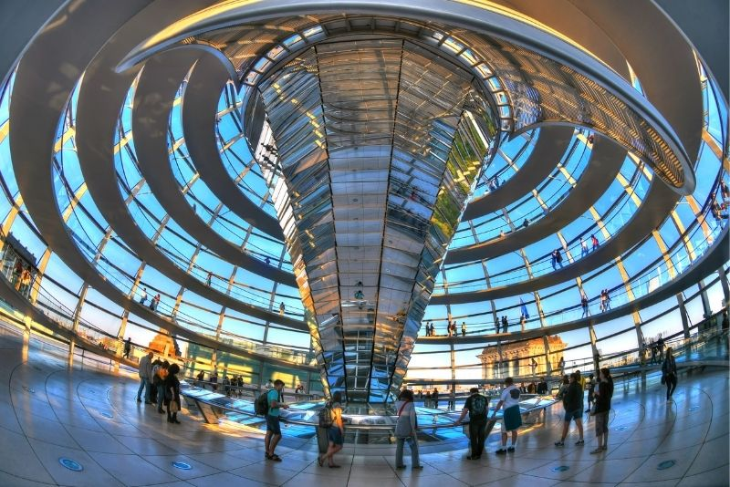 Deutsches Parlamentsgebäude, Reichstag, Berlin