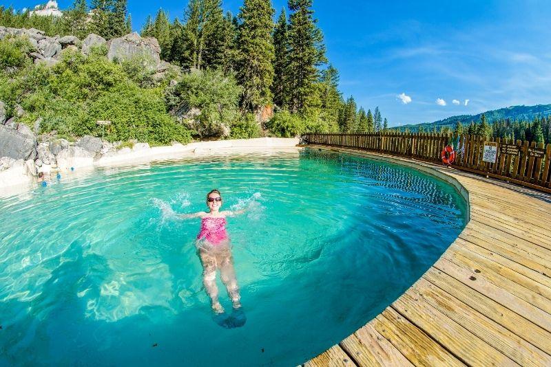 Granite Hot Springs, Jackson Hole