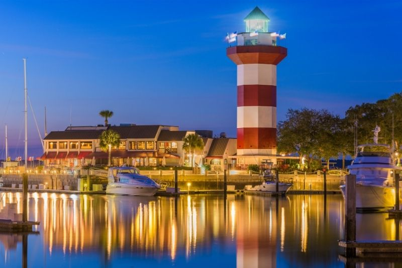 Harbour Town Lighthouse in Hilton Head Island
