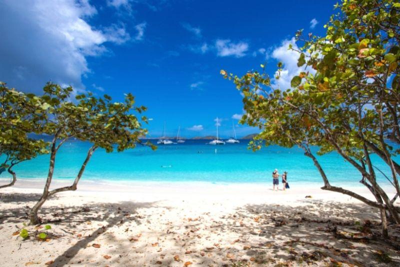 Honeymoon Beach, St Thomas