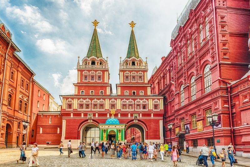 Iberian Gate and Chapel, Moscow