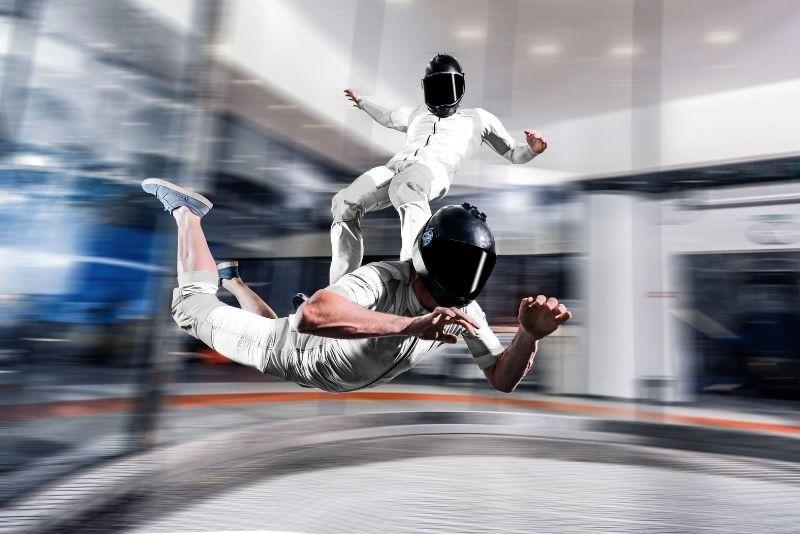 Indoor skydiving, Munich