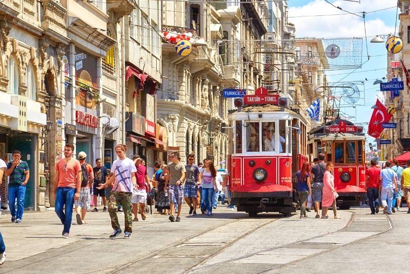 İstiklal Street, Istanbul