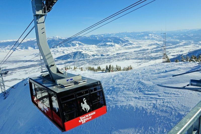 Jackson Hole Aerial Tram, Wyoming