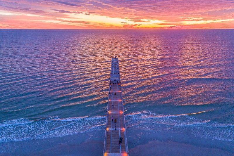 Jacksonville Beach Pier, Florida