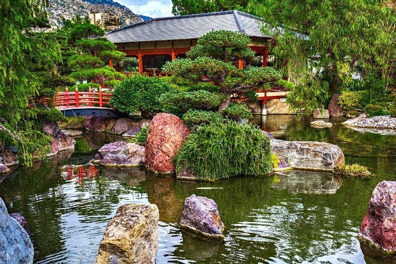 Japanischer Garten, Monaco