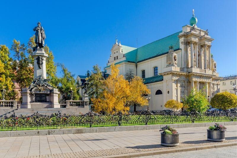 Krakowskie Przedmieście in Warschau