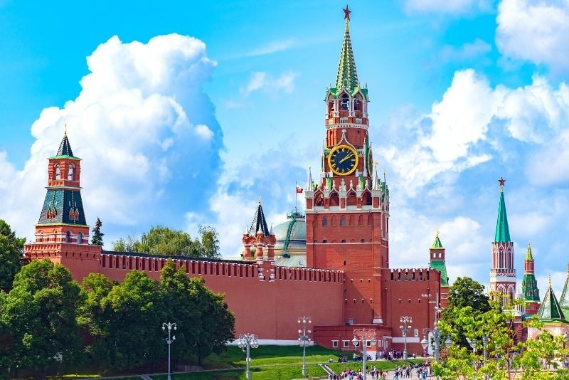 Kremlin towers, Moscow