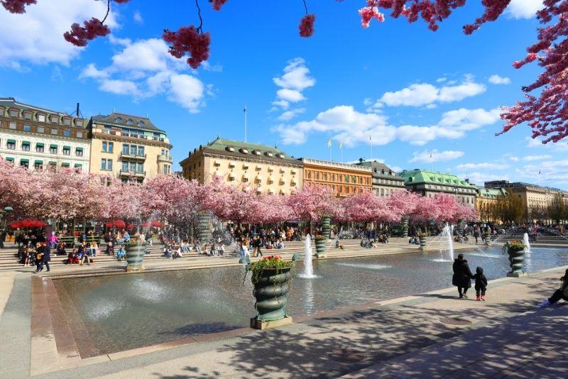 Kungsträdgården, Stoccolma