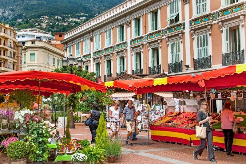 Der Condamine-Markt, Monaco
