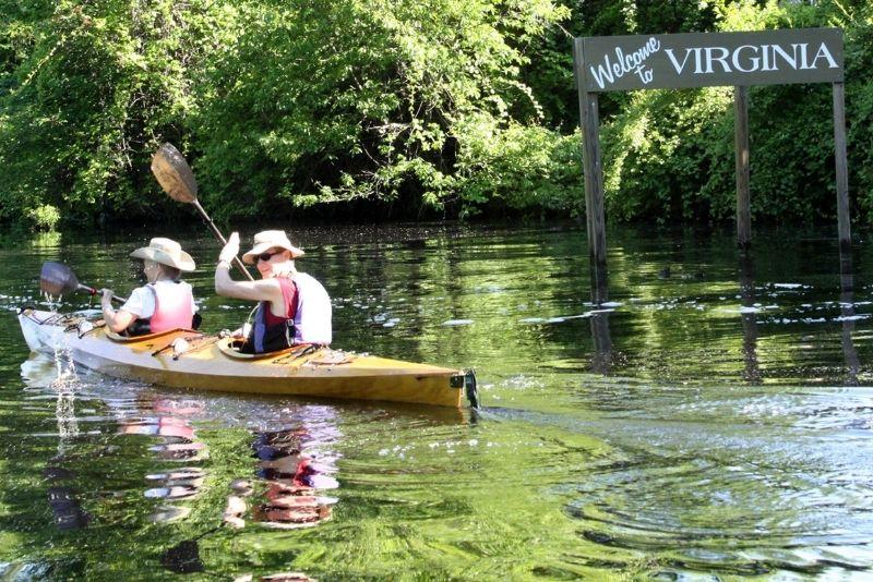 Lafayette River, kayaking in Norfolk Virginia