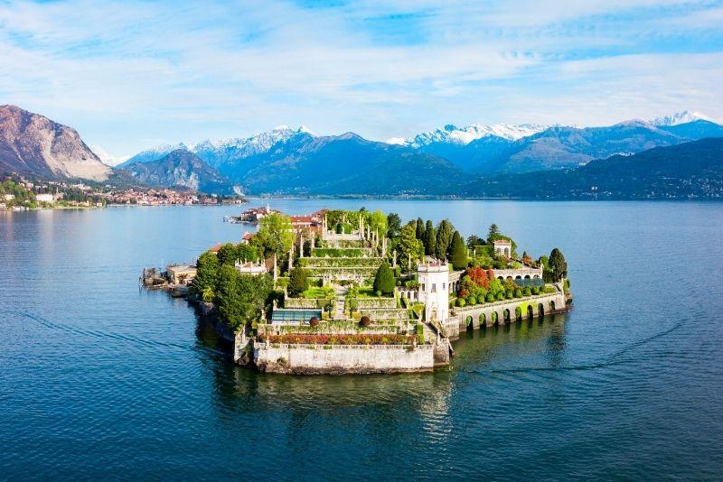 Bootstour am Lago Maggiore zur Isola Bella in Mailand