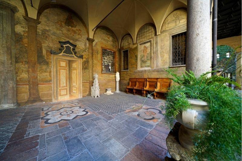 Leonardos Weinberg, Mailand