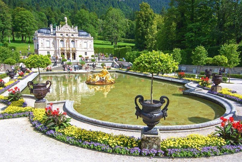 Linderhof Palace day trip from Munich