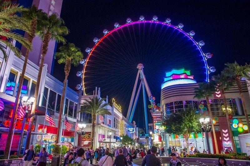 Linq High Roller wheel, Las Vegas