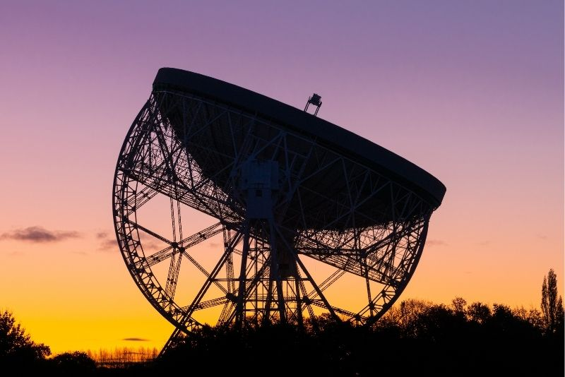 Lovell Telescope at Jodrell Bank Discovery Centre, Manchester
