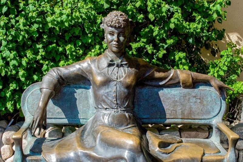 Lucille Ball Statue, Palm Springs