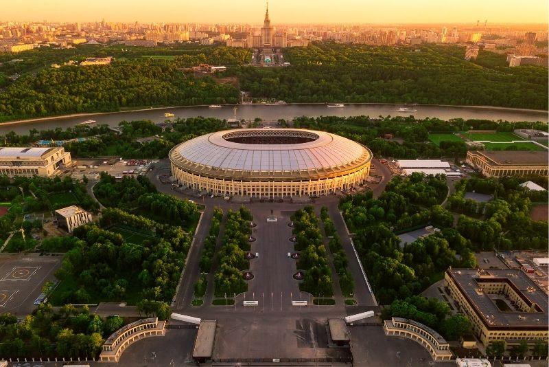 Luzhniki Stadium, Moscow