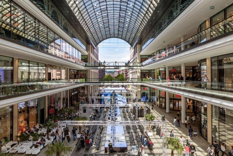 Einkaufszentrum Berlin, Deutschland