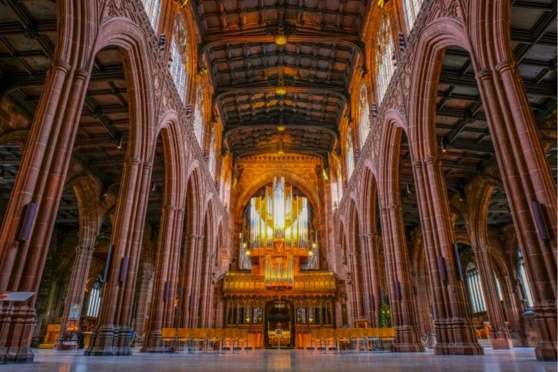 Manchester Cathedral, UK