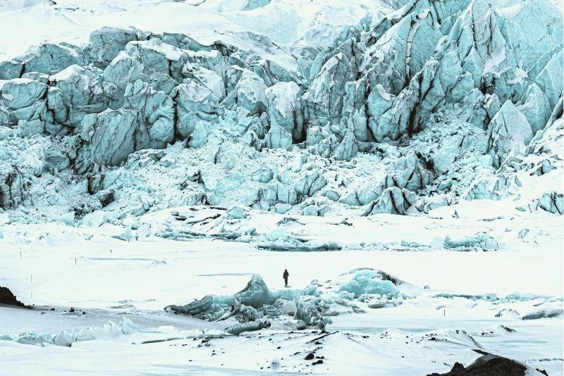 Matanuska Glacier in Anchorage