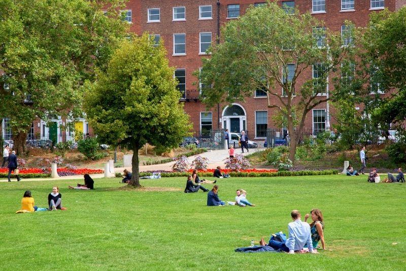 Merrion Square Park, Dublin