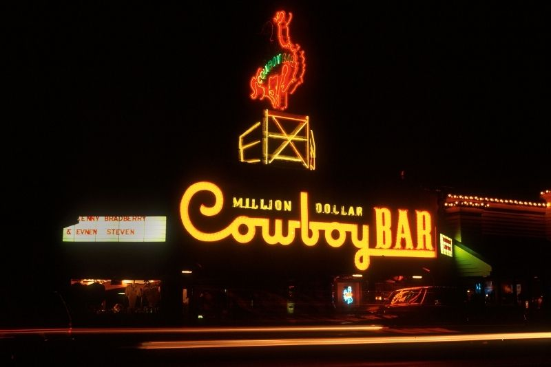 Million Dollar Cowboy Bar, Jackson Hole
