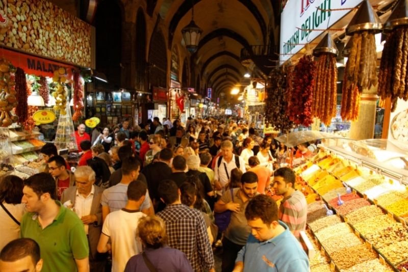 Mısır Çarşısı spice market, Istanbul