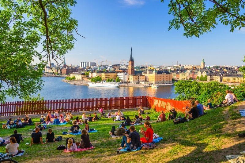 Monteliusvagen, Stoccolma