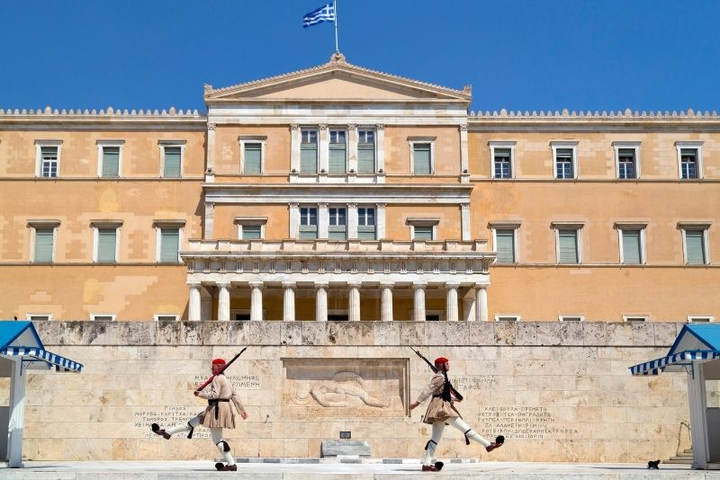 Monument of the Unknown Soldier, Athens