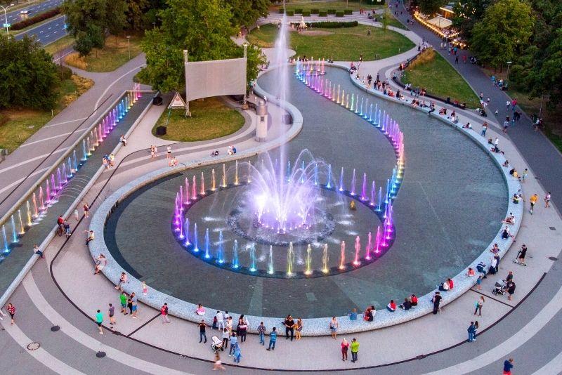 Multimedia-Brunnenpark, Warschau