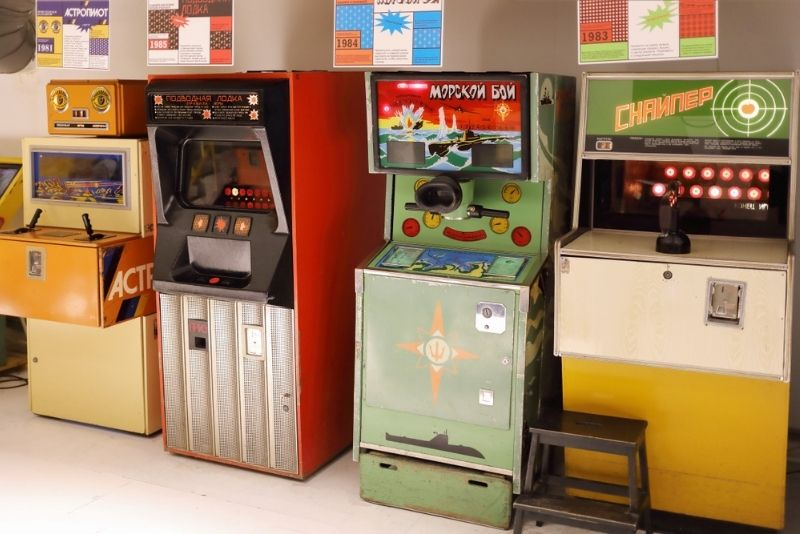 Museum of Soviet Arcade Machines, Moscow