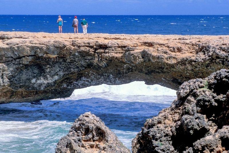 Natural Bridges in Aruba