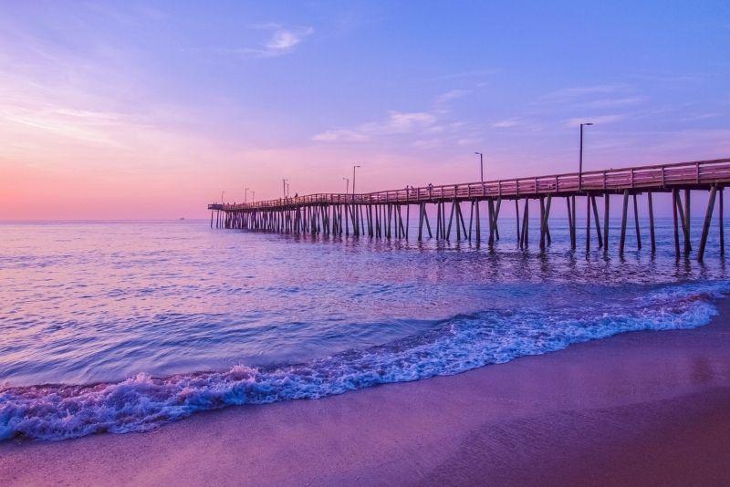Ocean View and East Beach, Norfolk
