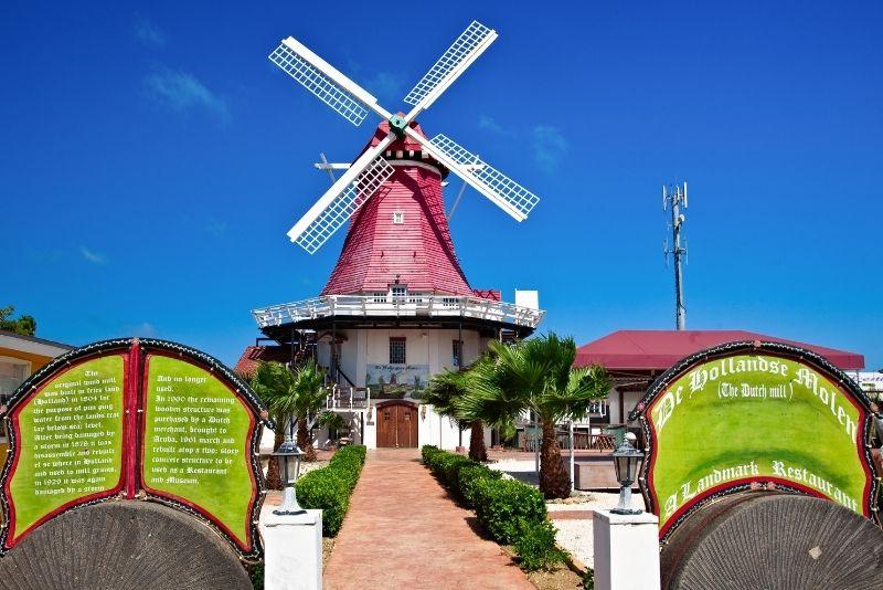 Old Dutch Windmill, Aruba