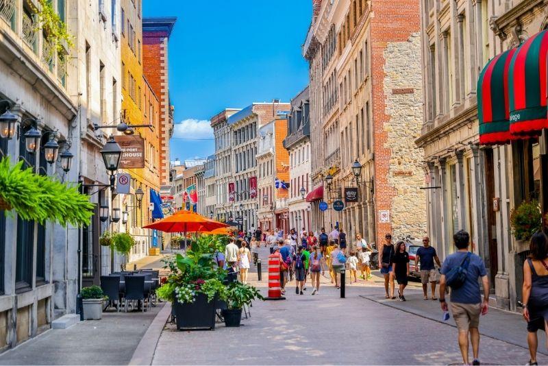 Old Montreal walking tours