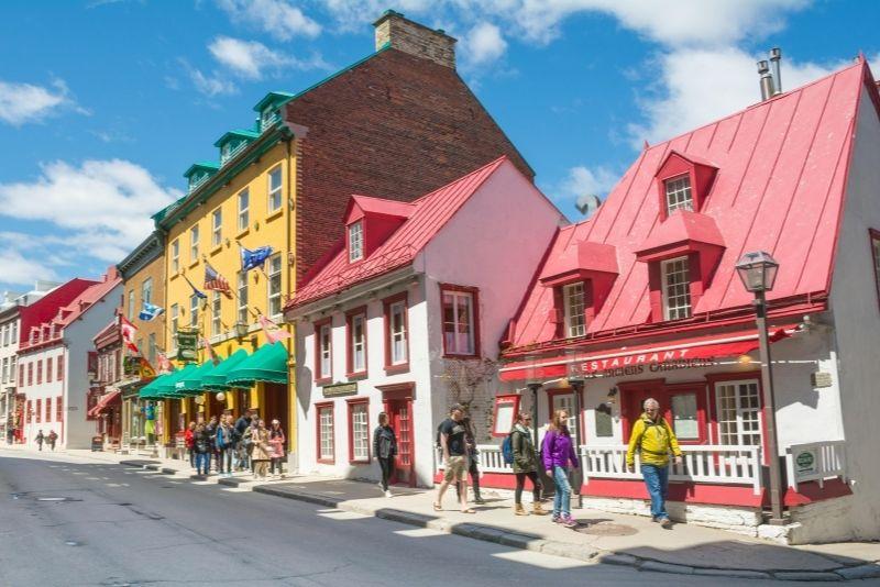 Old Quebec City walking tour