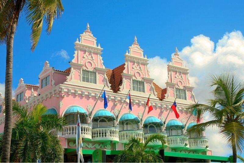 Oranjestad downtown, Aruba