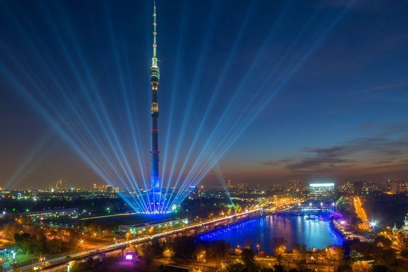 Ostankino TV Tower. Moscow