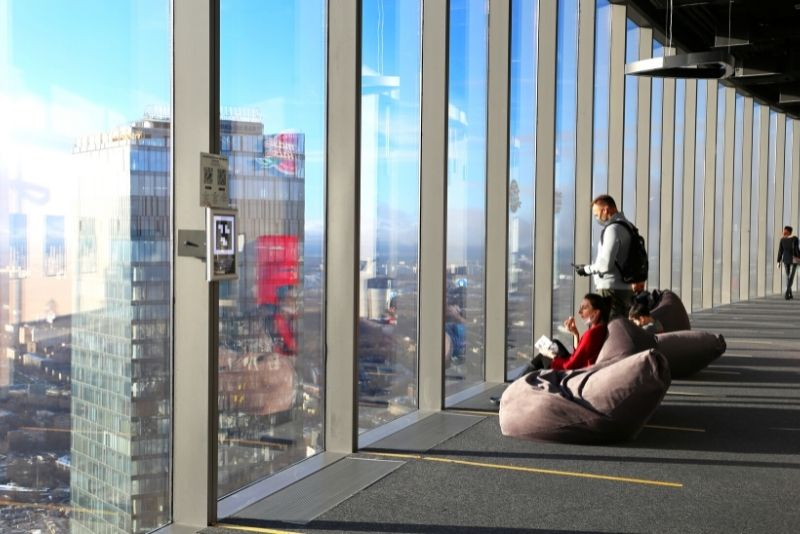 PANORAMA360 Observation Deck, Moscow