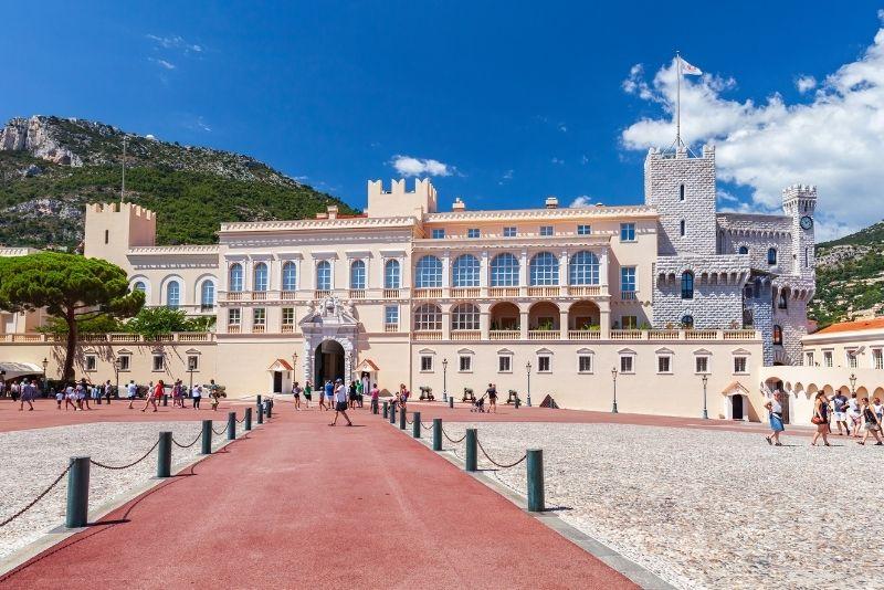 Fürstenpalast von Monaco in Monaco