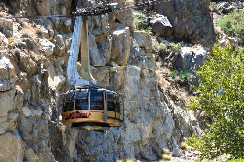 Palm Springs Aerial Tramway, California
