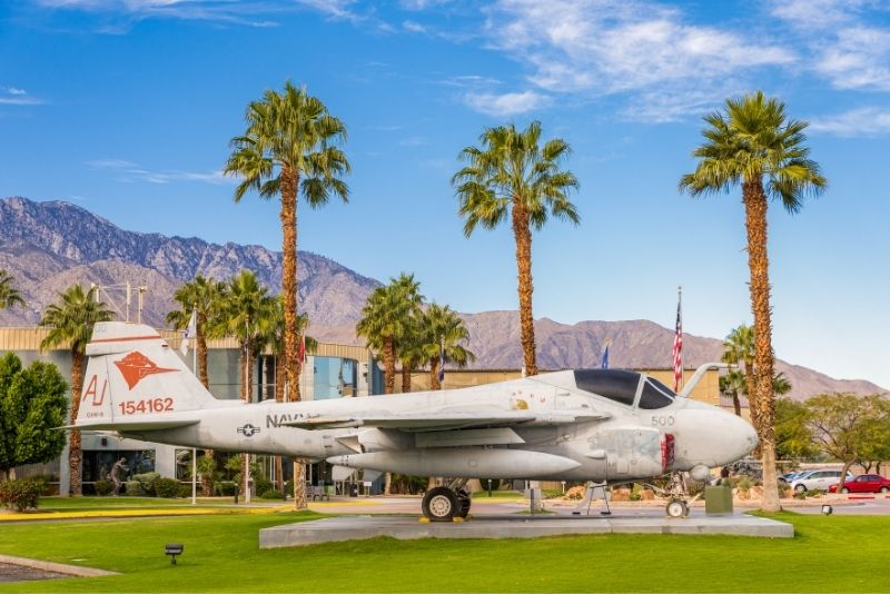 Palm Springs Air Museum, California